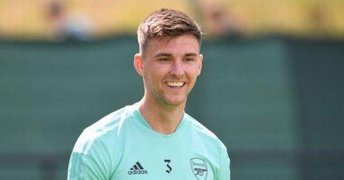 Kieran Tierney in Arsenal reinvention as defender come winger scores volley