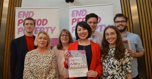 MSP Monica Lennon's period poverty campaign tackles sustainability