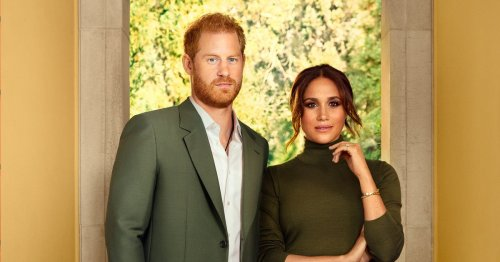 Meghan 'leads' photoshoot while Harry 'like fish out water', says body expert
