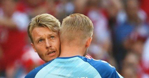 Simon Kjaer says facing Scotland brought Eriksen memories flooding back