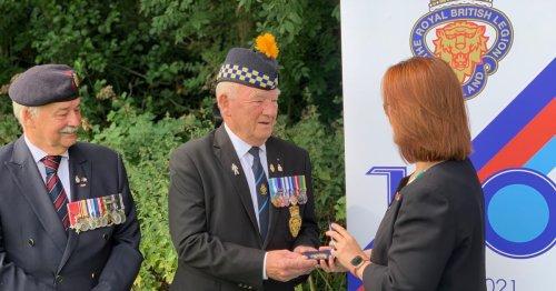 West Lothian charity hero John Thompson is honoured for his hard work