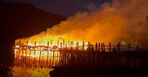 Over £30K donated in response to burnt down Crannog Centre