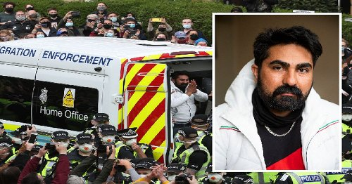 Glasgow immigration protest detainee 'lives in fear every single day'