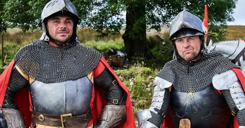 Ant and Dec are knights in shining armour for new I'm a Celeb promo