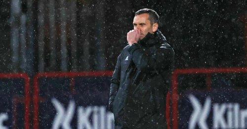 Stephen Glass reacts to Aberdeen fan chants and insists he must start winning