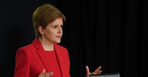 Nicola Sturgeon 'asks people not to lick each other' in Janey Godley voiceover