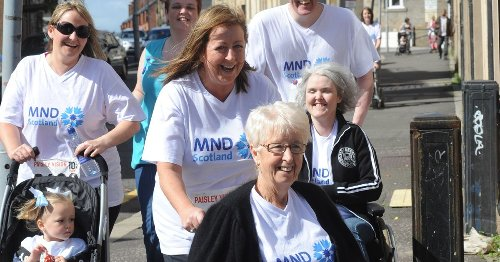 Her mum Eileen is the inspiration for the drive to help MND Scotland