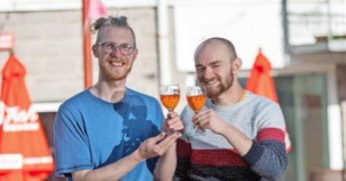 'Dumpster diving' pals make wine from fruit left in Aberdeen supermarket bins