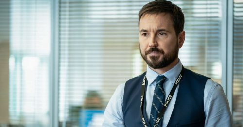 Martin Compston says it took '10 years to grow beard' in Line of Duty 'glow up'