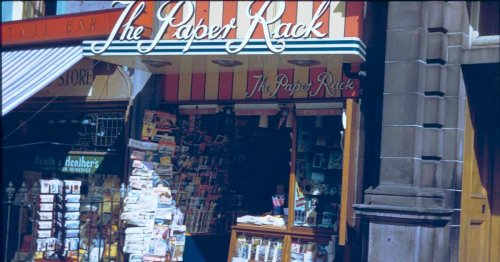 Stirling newsagent retires after decades at city institution The Paper Rack