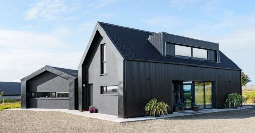 Man's unusual 'black house' has people confused over use of piano
