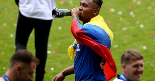 Alfredo Morelos celebrates his birthday with message from wife and Jordan Jones
