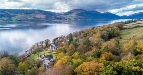 Stunning Victorian country house hotel on the shores of Loch Long goes on sale