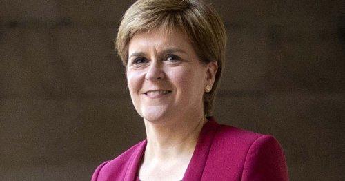 Nicola Sturgeon jokes 'weather in London is Scottish' in good luck message
