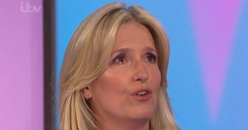 Penny Lancaster bursts into tears as she discusses anxiety battle on Loose Women