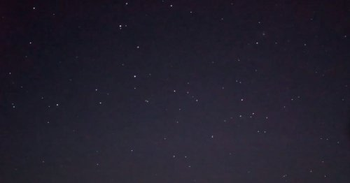 Scots stargazing blogger captures footage of Starlink satellites above Scotland