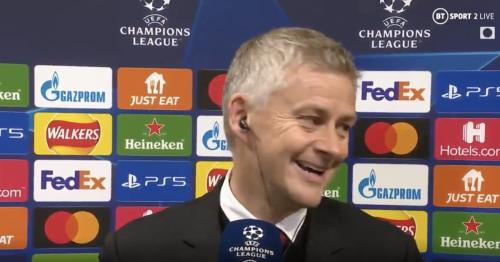 Ole Gunnar Solskjaer bites back at Manchester United questioning