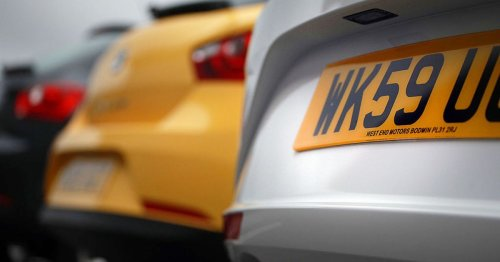 Car number plates banned in the UK in 2021 for being 'too rude' - full list