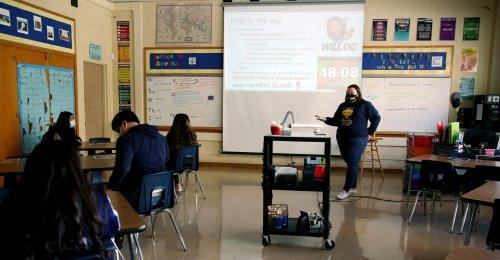 Posters in California High School Classroom: 'F--- Police,' 'F--- Amerikkka'
