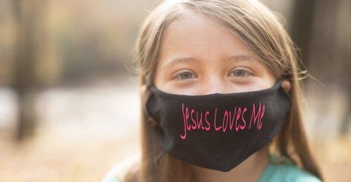 Teacher Tells Third Grader She Can't Wear 'Jesus Loves Me' Mask