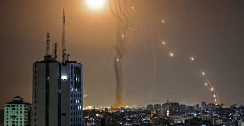 Hamas Exploits Palestinian Unrest to Launch Rocket War Against Israel