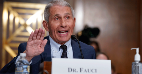 Senate Republicans Release Contents of Redacted Fauci Email on Chinese Lab
