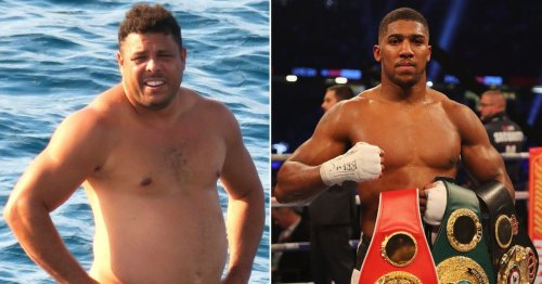 Brazil legend Ronaldo once weighed more than Anthony Joshua's career heaviest