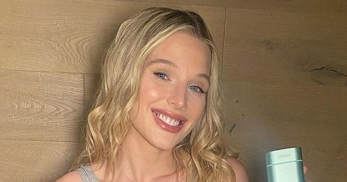 Helen Flanagan flaunts post-baby body in lingerie just weeks after having son