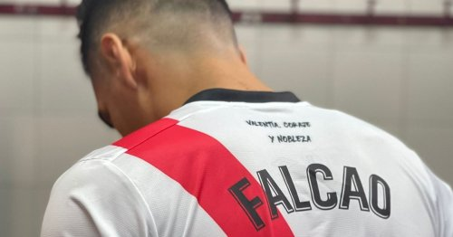 """Falcao's new Rayo Vallencao shirt number has fans saying """"football is dead"""""""