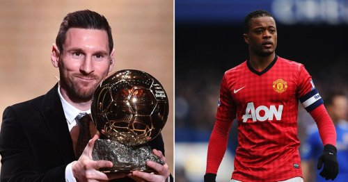 """Patrice Evra is """"sick"""" of watching Lionel Messi win the Ballon d'Or"""