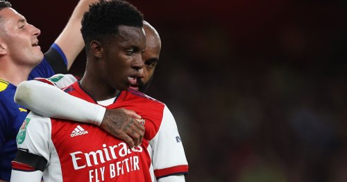 Arteta says Nketiah is showing up Arsenal flops on 'how to be professional'