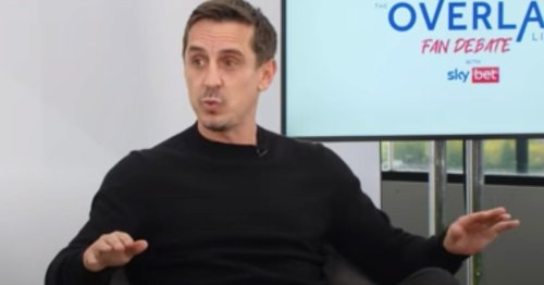 Gary Neville shows Ole Gunnar Solskjaer he was right after Leicester mistakes