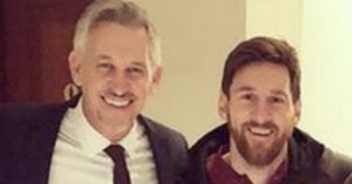 Gary Lineker teases Lionel Messi's next club after Barcelona exit is announced