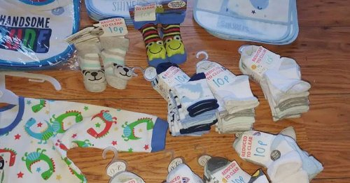Mum says she managed to bag £64 worth of baby stuff at B&M for just £1.70