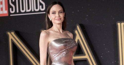 Angelina Jolie suffers nightmare hair extension blunder at Eternals red carpet