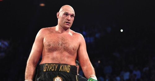 Tyson Fury's fists 'feel like rocks' according to sparring partner