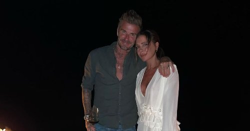 David Beckham teases wife Victoria with cheeky reminder of her age on birthday