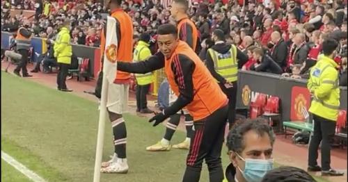 Jesse Lingard explains Man Utd fan confrontation during 5-0 Liverpool loss