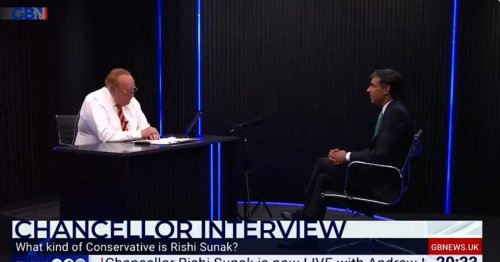 GB News and Andrew Neil praised for 'brilliant grilling' of Rishi Sunak