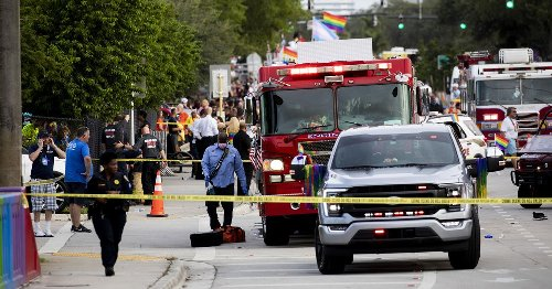 One person dead after truck runs over two revellers during Pride parade tragedy