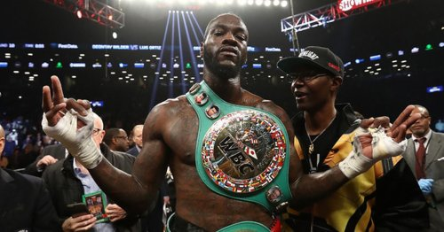 Mark Breland responds to Floyd Mayweather over subtle dig at Deontay Wilder