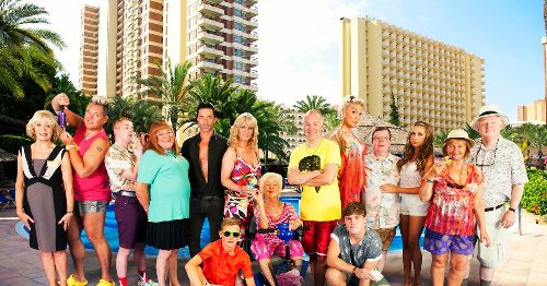 Benidorm writer claims he saw an actor punch a crew member during on set row