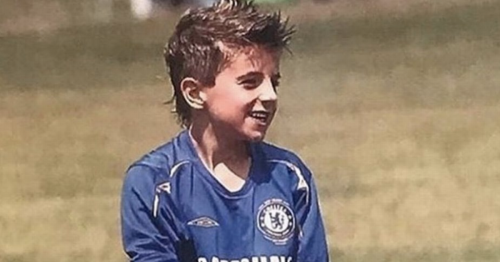 Chelsea and Man City stars as kids, featuring Mason Mount and Kevin de Bruyne