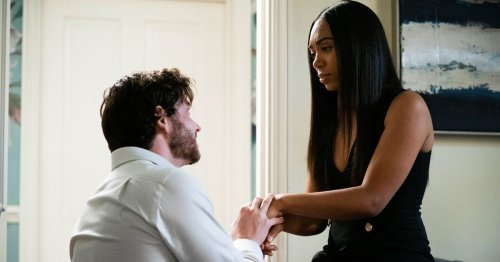 EastEnders spoiler: Killer Gray proposes to pregnant Chelsea as he loses control