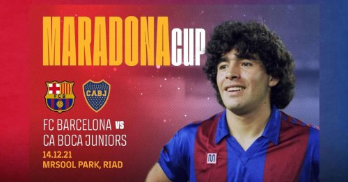 Barcelona's plan for 'Maradona Cup' branded 'disrespectful' after Napoli snub