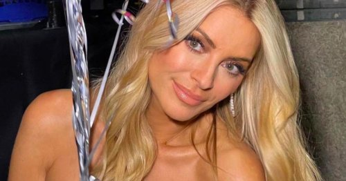 Strictly's Tess Daly thrills fans with strapless slinky jumpsuit in sizzling pic