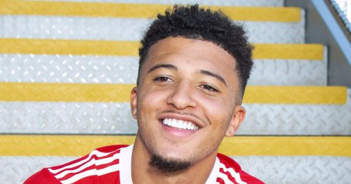 Jadon Sancho's Man Utd wages half of what England winger was expected to earn