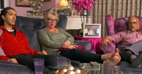 Gogglebox Michael family's life off-air - secret brother, glam home, rule break