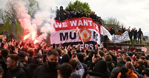 Man Utd fear another huge fan protest vs Liverpool with police on red alert