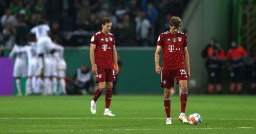 Bayern Munich suffer humiliating 5-0 defeat to Borussia Monchengladbach